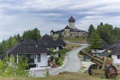 Cidade medieval Velika Kladusa foto de stock