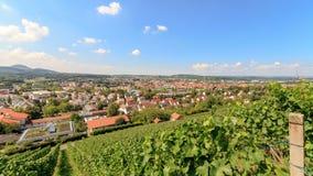 Cidade Metzingen da compra da tomada Fotografia de Stock Royalty Free