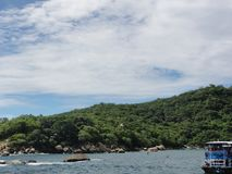Cidade mexicana de Acapulco - México imagens de stock