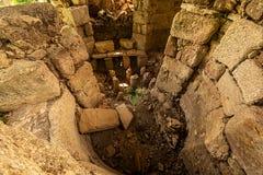 Cidade Milas Turquia da antiguidade de Iasos foto de stock royalty free
