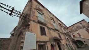 Cidade Minturno Itália vídeos de arquivo