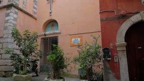 Cidade Minturno Itália Uma igreja pequena filme