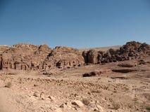 A cidade misteriosa no deserto da rocha Fotos de Stock