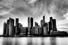 Cidade moderna Imagens de Stock
