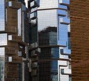Cidade moderna Fotografia de Stock Royalty Free