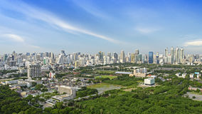 Cidade moderna de Banguecoque Fotos de Stock
