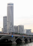 Cidade moderna de singapore Imagens de Stock Royalty Free