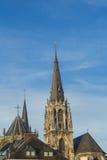 Cidade moderna e antiga de Aix-la-Chapelle Fotografia de Stock Royalty Free