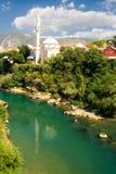 A cidade Mostar Fotografia de Stock