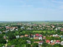 Cidade Mukachevo, Ucrânia Fotos de Stock