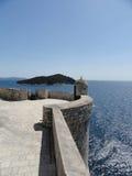 A cidade murada de Dubrovnik, Croácia Foto de Stock