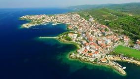 Cidade na costa de mar filme
