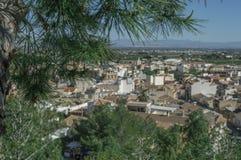 Cidade nas montanhas Fotografia de Stock Royalty Free