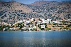 Cidade nas montanhas Greece Imagens de Stock