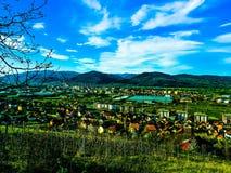 Cidade nataa Fotografia de Stock Royalty Free