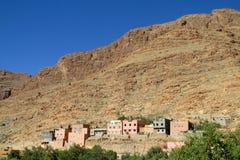 Cidade no deserto Imagem de Stock Royalty Free