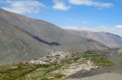 Cidade no deserto de Atacama Fotos de Stock