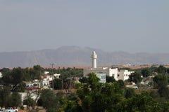 Cidade no deserto UAE Fotos de Stock Royalty Free