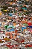 Cidade no monte Imagem de Stock