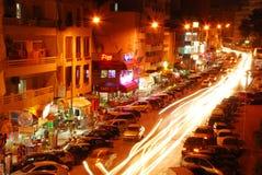 Cidade nocturna Fotografia de Stock