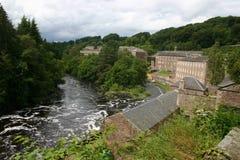 Cidade nova de Lanark Fotos de Stock Royalty Free