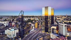Cidade nova de Tallinn, Estônia foto de stock royalty free