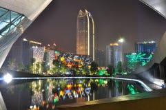 Cidade nova de Zhujiang Imagem de Stock
