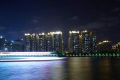 A cidade nova do zhujiang Imagens de Stock Royalty Free
