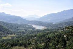 Cidade Nuwara Eliya da montanha Fotografia de Stock