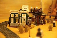 Cidade ocidental imagens de stock royalty free