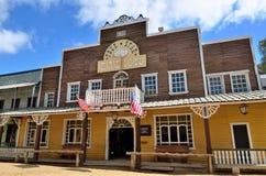 Cidade ocidental selvagem saloon Fotografia de Stock Royalty Free