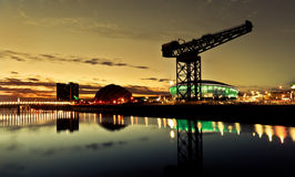 Cidade od Glasgow Panorama Imagem de Stock
