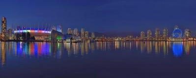 Cidade panorâmico da noite Imagem de Stock Royalty Free
