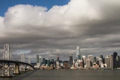 A cidade pelo louro fotografia de stock royalty free