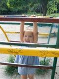 Cidade pequena das crianças Foto de Stock Royalty Free