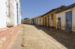 A cidade pequena de Trinidad Imagem de Stock Royalty Free