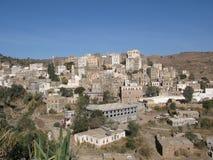 Cidade pequena em Yemen imagens de stock