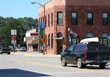 Cidade pequena EUA Fotos de Stock Royalty Free