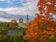 Cidade pequena provincial Fotografia de Stock
