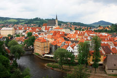 Cidade pequena. Imagem de Stock Royalty Free