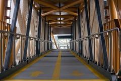 Cidade Pier Walkway imagem de stock