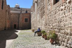 A cidade Potosi Na hortelã Imagens de Stock Royalty Free