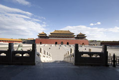 Cidade proibida Beijing imagens de stock royalty free