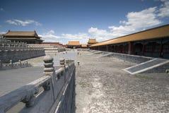 Cidade proibida Beijing fotografia de stock royalty free