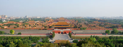 Cidade proibida Beijing Imagens de Stock