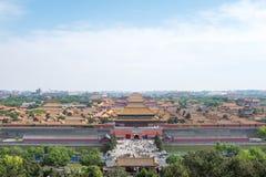Cidade proibida, Beijing Foto de Stock Royalty Free