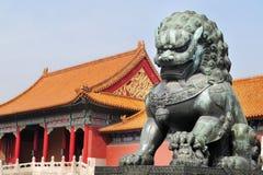 Cidade proibida, Beijing China imagens de stock royalty free