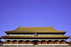 Cidade proibida, Beijing China Imagem de Stock Royalty Free