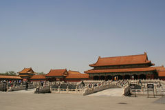 Cidade proibida - Beijing - China Fotografia de Stock Royalty Free