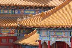 Cidade proibida em Beijing Foto de Stock